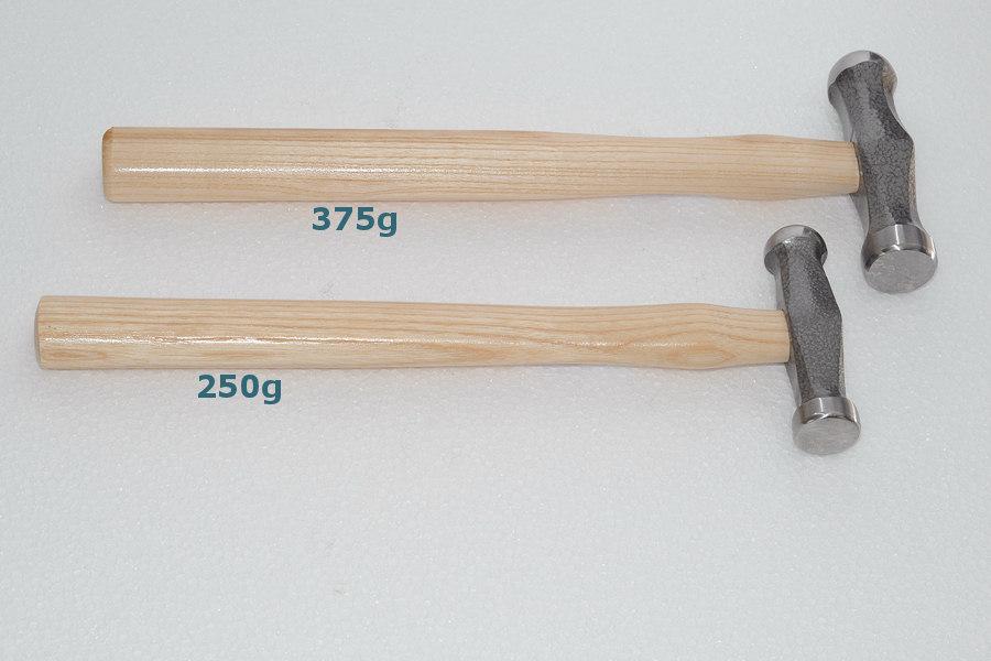 Spann- und Polierhammer 375 g
