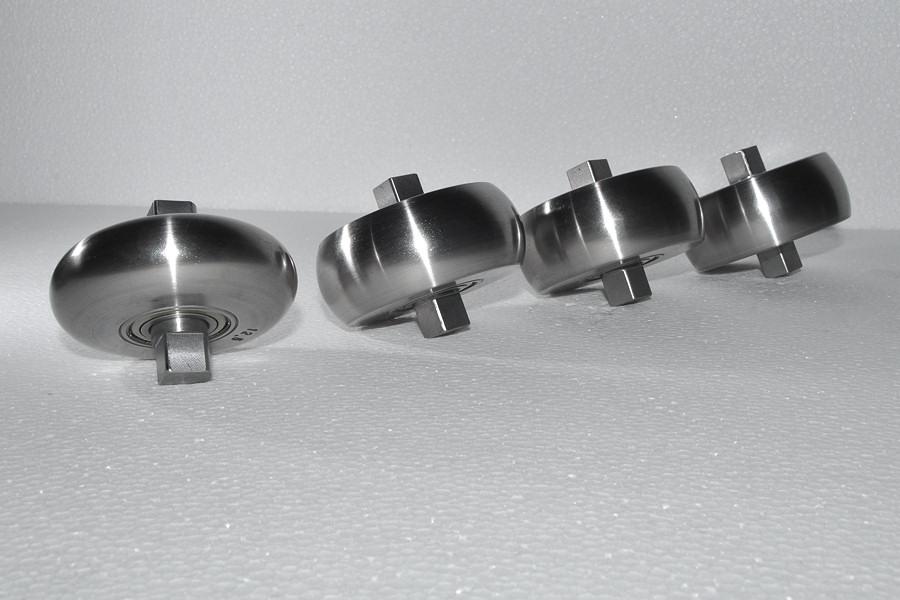 Schmale Formrolle 33mm - gehärtet und poliert