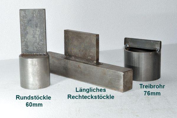 Treibhilfe Rundstöckle 60 mm / 76 mm